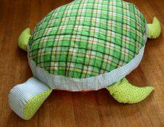 Oversized Turtle Floor Cushion