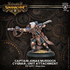 Captain Jonas Murdoch   Privateer Press