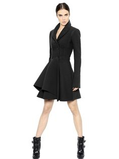 Ann Taylor Loft Womens Skirt Size 6 Black Khaki Beige Wool Blend A-line Limpid In Sight Women's Clothing