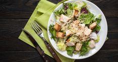 Így készül az igazi cézár saláta   Vidék Íze Izu, Cobb Salad, Food, Essen, Meals, Yemek, Eten