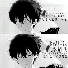 Oh so true                                                     Oreki Houtarou Quotes