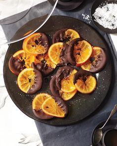 Candied Orange Dipped in Chocolate Recipe by @Sweet Paul Magazine
