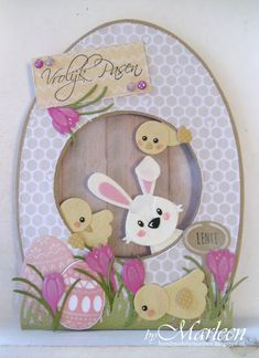 ostern byMarleen: Vrolijk Pasen Transplanting Tips Article Body: Early spring is a great time for tr Marianne Design Cards, Shaped Cards, Kids Cards, Greeting Cards Handmade, Easter Crafts, Scrapbook Cards, Homemade Cards, Stampin Up Cards, Happy Easter