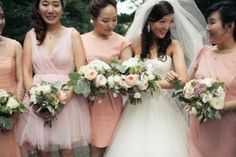 Blush, Ivory and Black Dreamy Wedding Color Inspiration Color Inspiration, Wedding Inspiration, Bridesmaid Dresses, Wedding Dresses, Bridesmaids, Ivory Wedding, Best Day Ever, Wedding Images, On Your Wedding Day