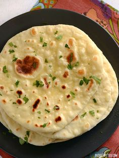 Easy Homemade Naan Recipe - Step By Step Photos - Budget Bytes - Homemade Naan – Budget Bytes. This is a great site for cool recipes. Naan Bread Recipe No Yogurt, Homemade Naan Bread, Recipes With Naan Bread, Nann Bread Recipe, Indian Naan Bread Recipe, Butter Naan Recipe, Samosa Recipe, Flatbread Recipes, Pita Bread