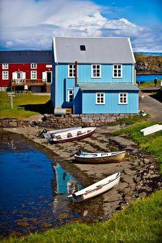 Flatey, Iceland.