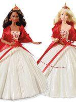 2010 Celebration Holiday Barbie Ornament