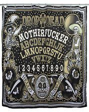 Ouija Drop Dead shower curtain from TooFast $20