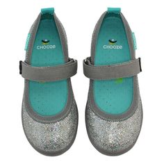 Jump in Glow Silver Girls Ballet Flats, Girls Dress Shoes, Ballet Fashion, Baby Boots, Funky Fashion, Big Kids, Mary Janes, Glow, Sneakers