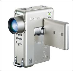 Powershot TX1 HD Video & Photo Camera Classic   $150