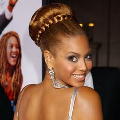 beyonce up hairstyles Braid Bun Updo, Braided Updo, Cute Hairstyles Updos, Wedding Hairstyles, Stylish Hairstyles, Fashion Hairstyles, Pixie Hairstyles, Hair Styles 2014, Long Hair Styles