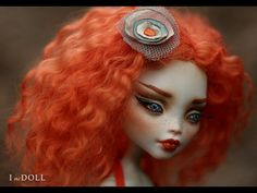 Monster High Repaint Art Doll OOAK – Lagoona | Vanda | Innocence