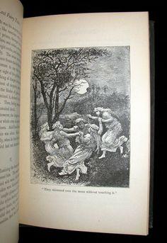 1885 Rare Book - Laboulaye's LAST FAIRY TALES - illustrated First Edit – MFLIBRA - Antique Books