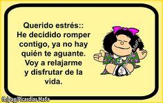 Blog de imagenes con frases. Happy Quotes, Funny Quotes, Funny Memes, Positive Thoughts, Positive Quotes, Mafalda Quotes, Spanish Humor, Spanish Quotes, Frases Humor