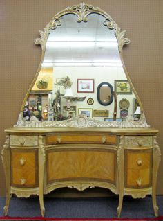 Vintage French Rococo Style Vanity Dresser Available Online Or In At Woodstock Antiques