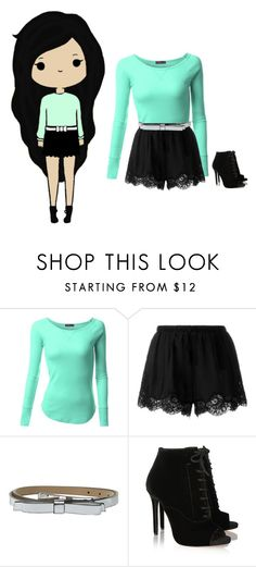 """Idk what to call this set oops"" by pandabear99k ❤ liked on Polyvore featuring xO Design, Doublju, Twin-Set, Kate Spade, Tabitha Simmons, women's clothing, women, female, woman and misses"