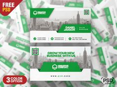 I'm happy to share Free Awesome Business Card PSD Template Set. This Awesome Business Card PSD Template Set is designed for any types of agency, corporate, small big companies and any personal use. Free Business Cards, Business Card Design, Creative Company, Psd Templates, Big, Awesome, Happy, Ser Feliz, Happiness