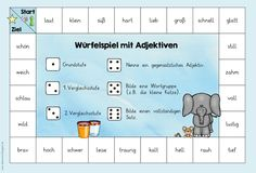 Fantastic Totally Free preschool activities language Suggestions In terms of se. German Grammar, German Words, Free Preschool, Preschool Activities, Teacher Problems, German Language Learning, Vocabulary Games, Learn German, Classroom Language