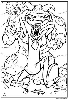 The 28 best Scooby Doo Coloring pages freec images on Pinterest ...