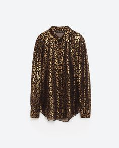 Image 8 of FOIL SHIRT from Zara