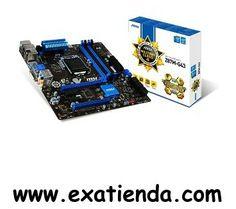 Ya disponible Placa MSI s 1150 z87m   (por sólo 106.99 € IVA incluído):    -Socket:LGA 1150 -CPU soportadas:4ª Generacon Intel Core i7/i5/i3/Pentium/Celeron -Chipset:Intel Z87 -Formato:M-ATX -Memoria:4x DDR31066/1333/1600/1866(OC)/2133(OC)/ 2400(OC)/2667(OC) Max. 64GB -Grafica:Integrada -Slots: • 1 x PCIe 3.0 x16 slot • 1 x PCIe 2.0 x16 slot - PCI E4 supports up to PCIe 2.0 x4 speed • 2 x PCIe 2.0 x1 slots -IDE/SATA: - 6 SATA 6Gb/s -Tarjeta red:10/100/1000 -Audio:8-ch