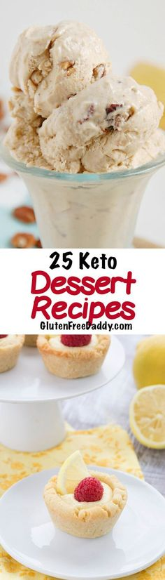Can you believe all these dessert recipes are Keto? Guess the Keto diet isn't as bad as I thought. I may just have to give these Keto dessert recipes a try . . .