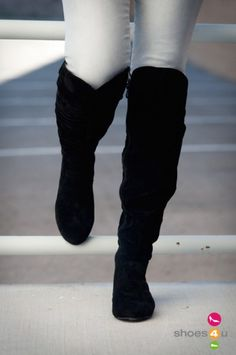 Slouchy Over The Knee Boots - Cr Boot