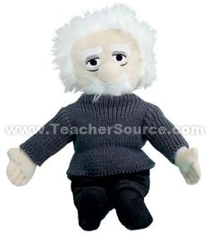 Einstein Plush Figure | 3-5 Science Experiments and Teaching Tools