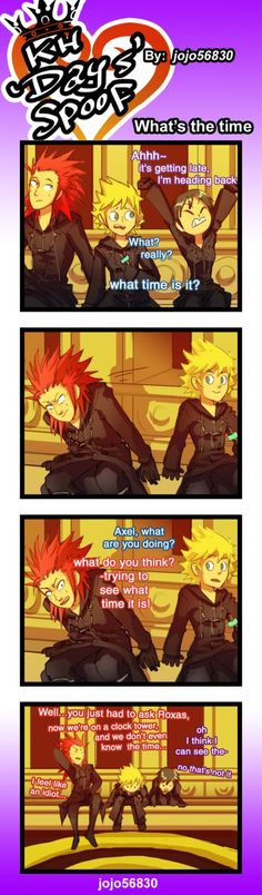KH Days spoof: wt's the time by jojo56830.deviantart.com on @DeviantArt