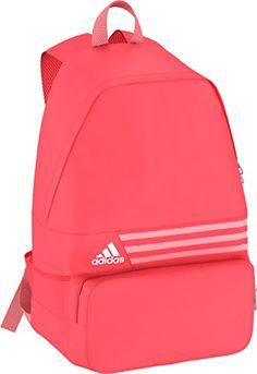 d2e1ecf130 Amazon.com  Adidas DER 3-stripes Medium Unisex Backpack (Grey mix  (S23082))  Sports   Outdoors