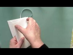 Envelope book tutorial for Marisa (created 4 CHA) - YouTube