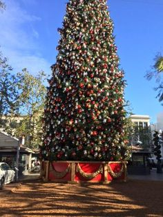 Christmas at The Grove in Los Angeles, California.