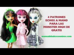 Episodio 612- Cómo hacer un patrón de ropa para tus muñecas + 4 patrones gratis!!!