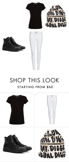 """""""Untitled #76"""" by taaywhitee on Polyvore featuring Vince, Burberry and Converse"""