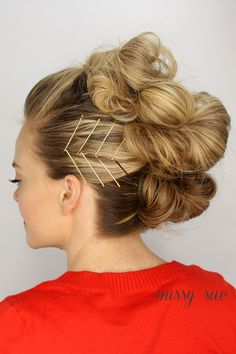 Bobby pins as purposeful accessories