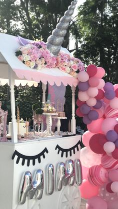 Unicorn Birthday Party on Kara's Party Ideas | KarasPartyIdeas.com (4)