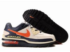 Top Design Nike Air Max Ltd 2th II Second Men Beige Orange Running Shoes