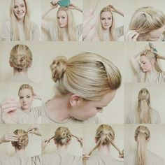 Phenomenal Not A Fan Of The Sock Bun Try This Alternative To The Traditional Short Hairstyles Gunalazisus