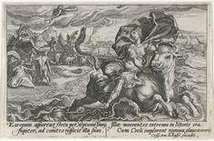 Roof van Europa, Crispijn van de Passe (I), 1602 - 1607