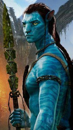 Avatar - Sam Worthington as Jake Sully Beau Film, Avatar Foto, Avatar James Cameron, Science Fiction, Wallpaper Bonitos, Avatar Tattoo, Avatar Poster, Man In Black, Stephen Lang