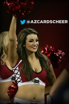 Arizona Cardinals Cheerleaders.  Say hello to Lindsay.  Click her pic to find our more about Lindsay. #AZCC #AZCARDINALS
