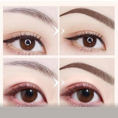 4 Points Eyebrown Pen – microblading before and after Beauty Skin, Beauty Makeup, Hair Makeup, Hair Beauty, 80s Makeup, Flawless Makeup, Makeup Style, Prom Makeup, Beauty Stuff