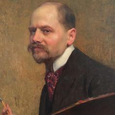 When painters took selfies! Emile FRIANT - 1920 | AboutART