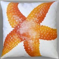Dermond Peterson Starfish Clementine Pillow