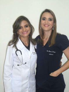 Fernanda e Loema - Maquiagem convites de formatura Medicina 2014