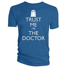 """Trust Me I'm The Doctor"" Tee 