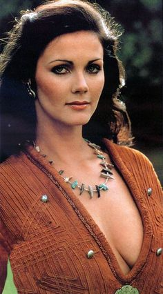 Lynda Carter beautiful before and after Wonder Woman.