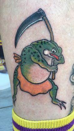 Japanese frog Kaeru