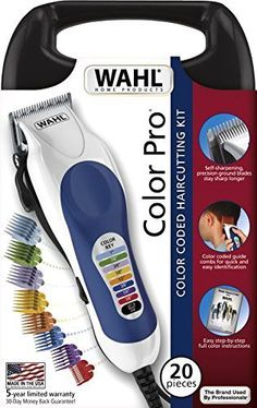 Kit-Wahl-Pro-Color-Haircut-Piece-Haircutting-New-Set-Trimmer-Professional-79300