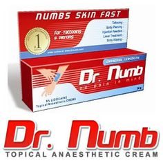 #DrNumb : Most Effective Numbing Lotion to Eliminate Pain